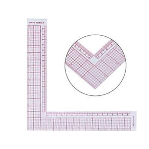 Plastic Sewing Square Curve Ruler Tailor Drawing Craft Tool DIY Supply Tool $3.08