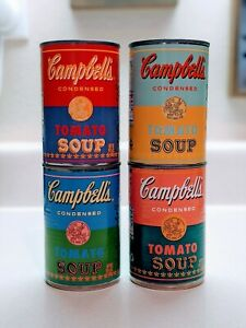 Andy Warhol Campbell#x27;s Tomato Soup Cans 50th Anniversary Limited Edition Target $50.00