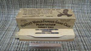 Vintage Herters Plantation Turkey Call IOB