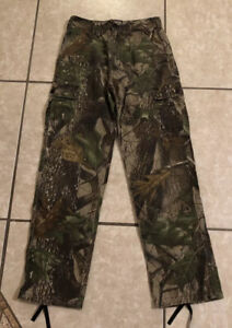 REDHEAD YOUTH LARGE CAMOUFLAGE PANTS HUNTING PANTS CAMO BOYS Pre Owned Realtree