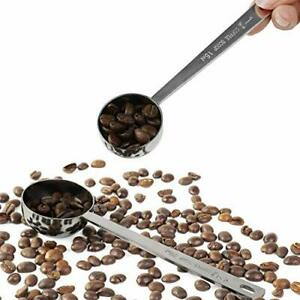 Coffee Scoop Stainless Steel 1 Tablespoon and 2 Tablespoon Long Handled Measuri $11.96