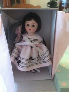 Madame Alexander party dress Wendy doll pink and black satin dress $21.99