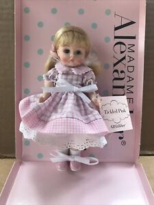 2007 Madame Alexander Tickled Pink 8quot; Doll #45675 w Box Tag Registration $100.00