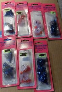 7 packs 21 pieces of Lucky Lure flies Vintage in package