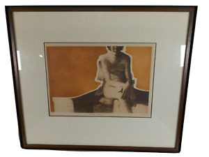 Dale Rayburn quot;Transparent Wrapquot; Nude Etching Signed Limited Edition 80 100 $399.00