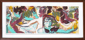Robert Kushner Cupids Making Borscht Two Lithographs Diptych signed and num $5500.00
