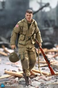 DID 1 12 Mini Action Figure XA80001 Ryan WWII US Army Soldier 101st Airborne $99.99