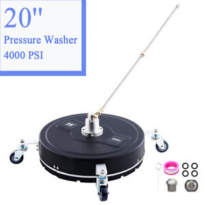 20 Inch 4000 PSI Pressure Washer Surface Cleaner Power Washer Accessory $180.99