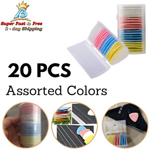 Dressmaker Tailors Chalk Triangle Fabric Marker Chalk 20 Pieces Assorted Color $11.95