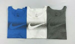 Mens Nike The Nike Tee Dri Fit Dry Standard Fit Polyester Tank Top $19.99