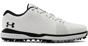 Under Armour Fade RST 3 Golf Shoes 3023330 100 Mens White New $75.00