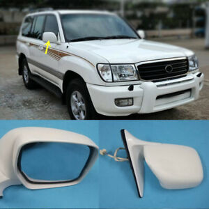 3 Line Electric Rear View Mirror Right White for Land Cruiser Lexus LX470 98 07 $162.15