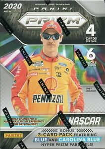 2020 Panini PRIZM NASCAR Racing Series Sealed Blaster Box EXCLUSIVE BLUE PRIZMS $34.99
