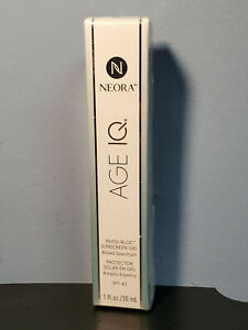 NEORA Invisi Bloc Sunscreen Gel Broad Spectrum SPF 40 1 fl oz Exp. 9 2021 $18.65