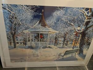 CHARLES PETERSON LIMITED EDITION quot; The Carolersquot; PRINT SIGNED #486 2800 $350.00