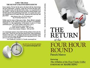 The Return of the Four Hour Round : Four under Golf by Patrick Mateer $6.27
