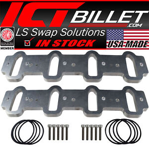LS Cathedral Port Intake Manifold Weld Flanges LS1 $99.99