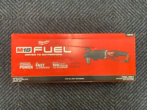 New Milwaukee 2809 20 M18 Fuel SUPER HAWG Cordless Right Angle Drill Tool Only $379.00