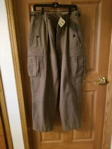 Vintage Army Military Wool Pants 37X30 Olive Green $27.00