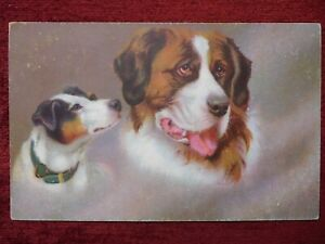 ANIMAL ARTIST POSTCARD DOG 1925 $10.00