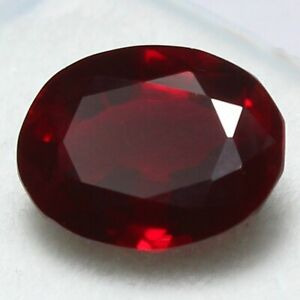 6.50 Ct Certified Natural Burma Pigeon Blood Red Ruby UNHEATED Loose Gemstones