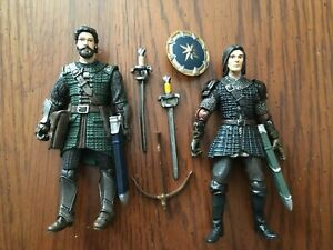 Narnia Prince Caspian and General Glozelle 2nd Series VHTF Loose 3.75quot; $65.00