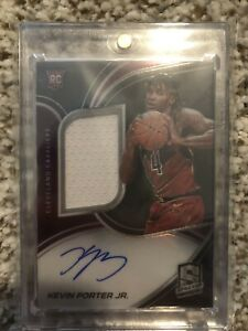 2019 20 Panini Spectra Kevin Porter Jr RPA Patch Auto 149 $75.00
