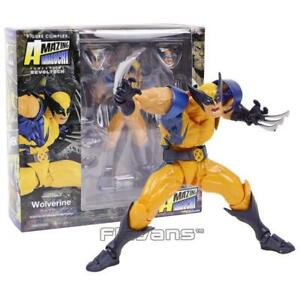 AMAZING YAMAGUCHI Revoltech NO.005 Wolverine Logan PVC Action Figure Collectible $27.35