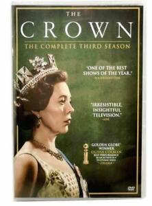 The Crown:The Complete Season 3 DVD4 Disc Set New Sealed $11.99
