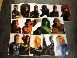 complete set of alex ross all 32  timless covers silver surfer   nm  shape $140.00