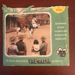 View Master Reels No 962 The Lone Ranger $15.00