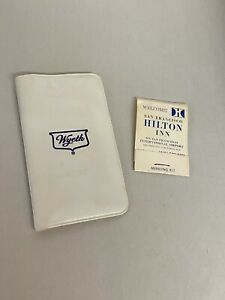 Vintage Complementary Travel Sewing Kits 2ea SF Hilton amp; Wyeth $10.00