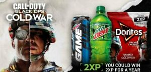 Call Of Duty Cold War Double XP 2xp 1 Hour CHEAP FAST DELIVERY