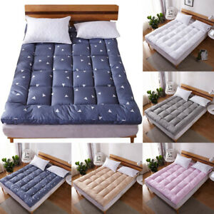 Mattress Pad Cover Bed Topper Protector Pillow Top Quilted King Queen Full Size $42.98