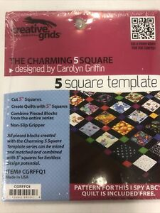 Creative Grids The Charming 5 Square $14.00
