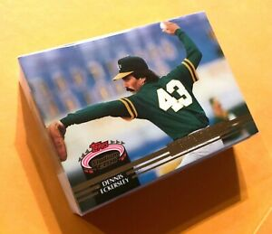 50 DENNIS ECKERSLEY Oakland As 1992 Topps MEMBERS ONLY Stadium Club LOT $17.95