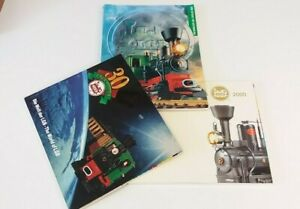 Trains Catalogs The World Of LGB Trains Set of 3