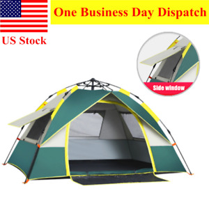Automatic Instant Pop Up Waterproof Camping Tent 2 3 Person Hiking Tent