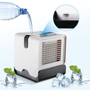 Portable Air Conditioner UBS Rechargeable Personal Air Cooler Fan $23.99