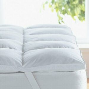 2quot; Hypoallergenic Allergy Free Down Alternative Mattress Topper amp; Pad Protector $39.99