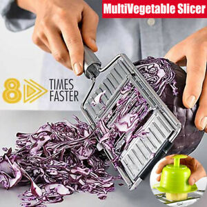 Multi Purpose Vegetable amp; Fruits Slicer Grater Peeler Cutter $8.88