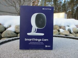 New Sealed. Samsung SmartThings Wired Smart Indoor Security Camera 1080P $41.99