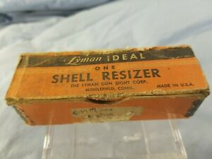 Vintage Herters Seater Crimp Reloading Die For 38 Spl. in Box