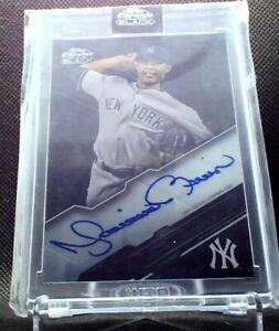 2020 Topps Chrome Black Mariano Rivera Encased Auto $179.95
