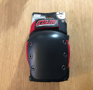 Pro tec Skateboarding Knee Pads Black Red Adult Medium $11.99