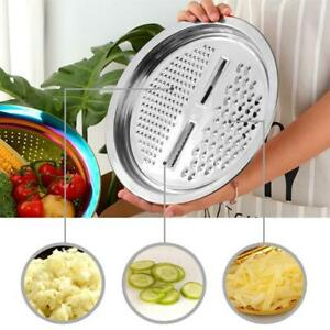 Multi function Vegetable Slicer Grater Peeler Carrot Onion Fruit Kitchen Tools $23.10