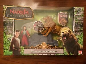 Chronicles of Narnia Prince Caspian Aslan and Lucy Stone Altar 3.75quot; New $30.00