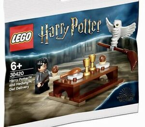 LEGO® Harry Potter and Hedwig 🦉Owl Delivery 30420 New Polybag 🦉Free Shipping🦉