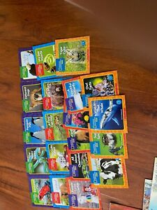 20 NEW National Geographic Kids Science Animal Readers levels A D $29.99