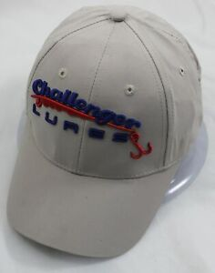 CAP CHALLENGER LURES FISHING PROMO HAT ADULT
